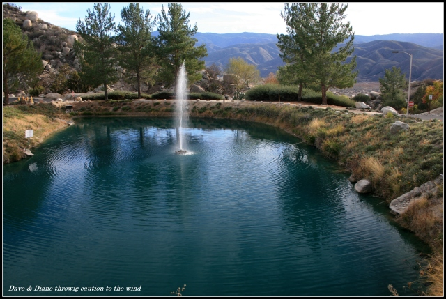 Salah satu kolam taman