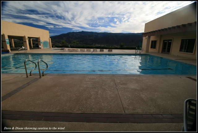 What a great view from the pool area.