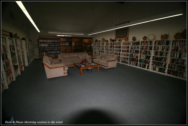 Library, could you have guessed LOL!!