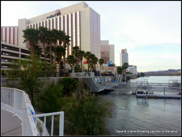 From the River Walk in Laughlin