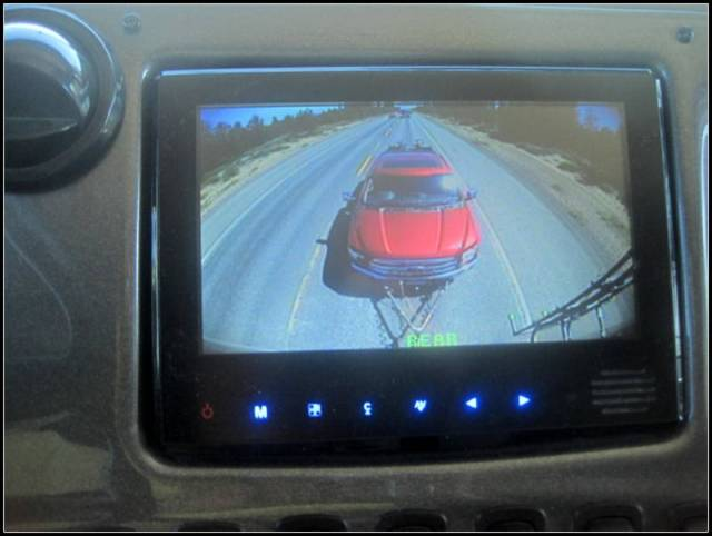 That looks a little different than what we have been seeing in the rear view camera the last 4 years.
