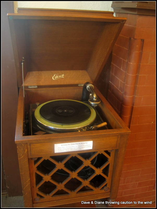 "We actually heard this record player play. The album was about 1/4"" thick."