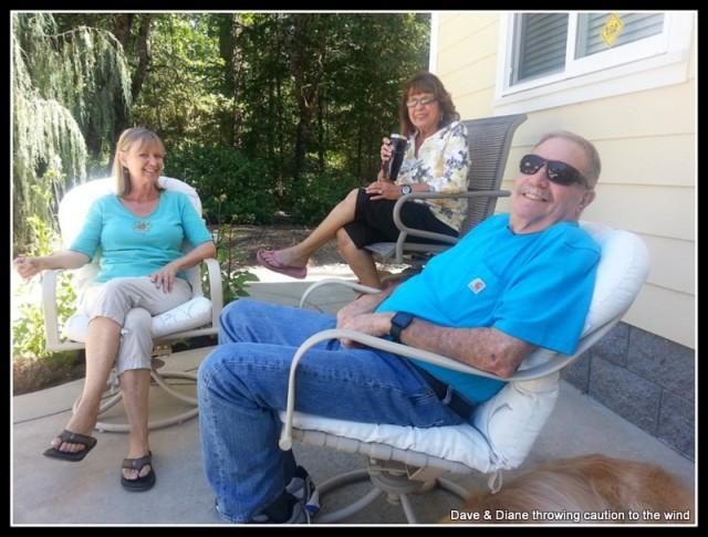 Diane , Chris & Rich.