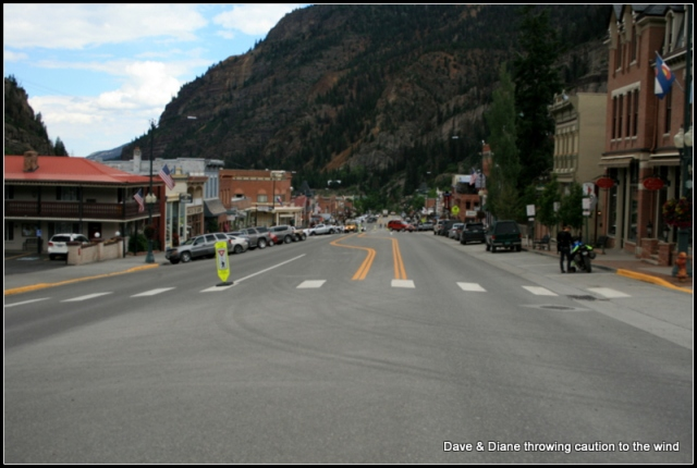 A shot down Main street in Ouray