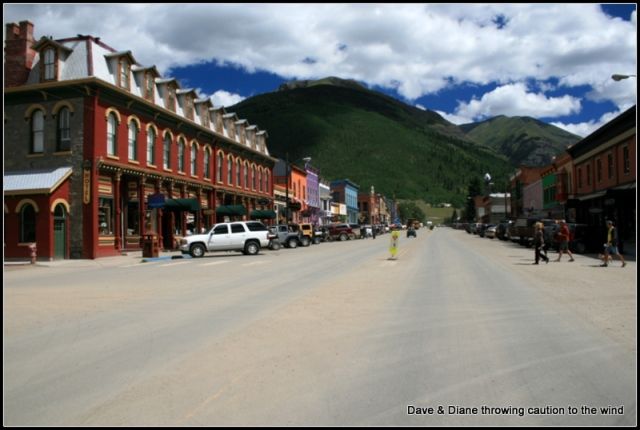 Another shot up main street in Silverton