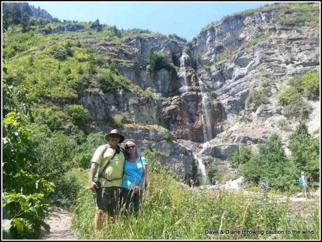 Us at Stewart Falls