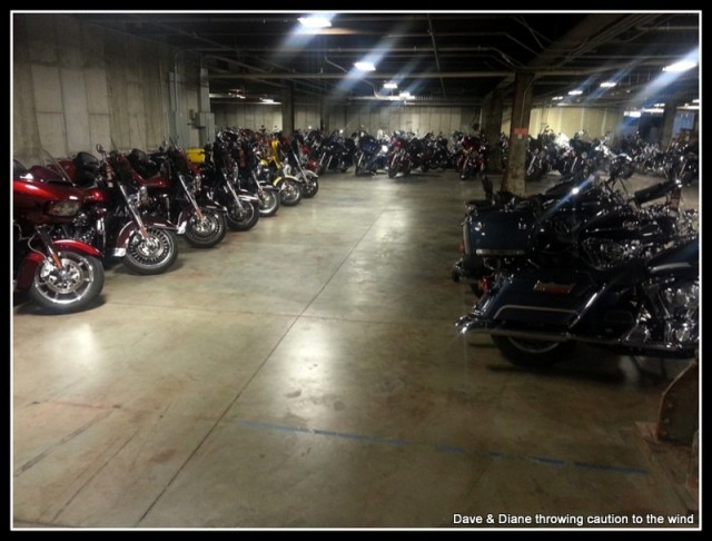Reminds me of the days we rode to Street Vibrations in Reno and parked in the Casino garages.
