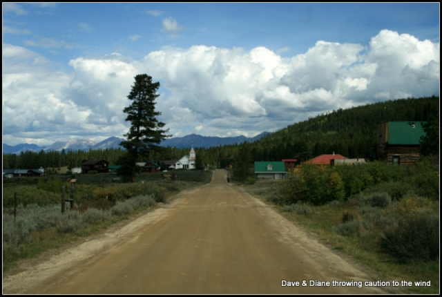 A road leading into Tincup