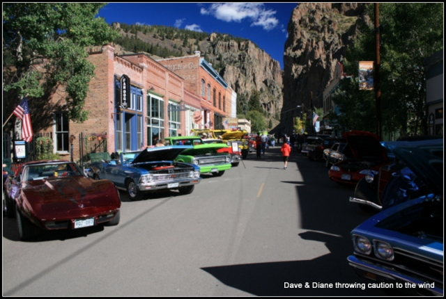 Car show in Creede
