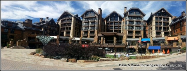 One of the many places to stay in Vail.