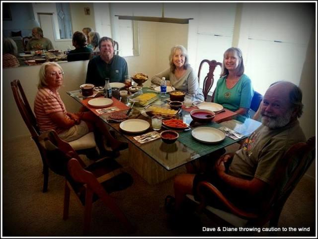 Lynn, Roger, Dianne, My Diane, Tom
