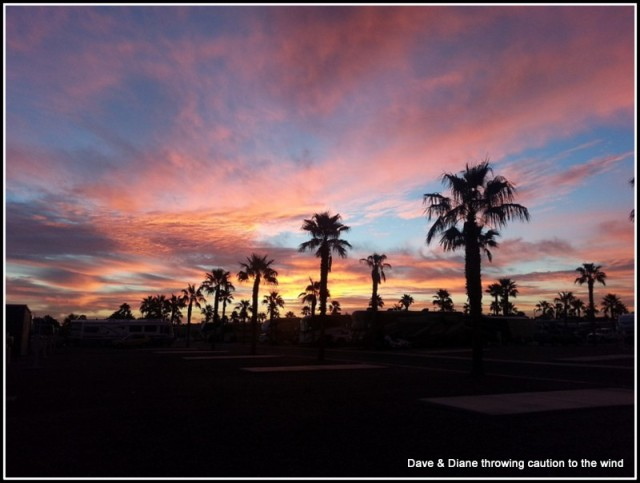 Just one of the fantastic sunrises we see so often here in Arizona.