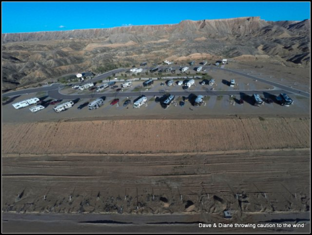 Solstice RV park. We are the rig in the bottom right.