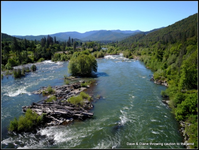 Rogue River just outside of Gold Hill
