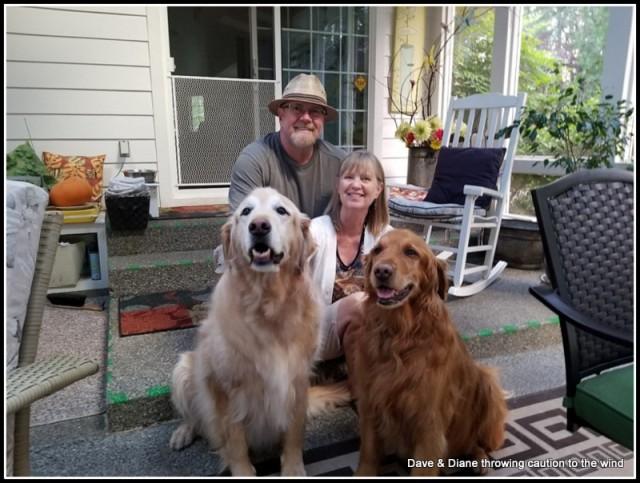 Me (Dave), Diane, Felix and Jack.