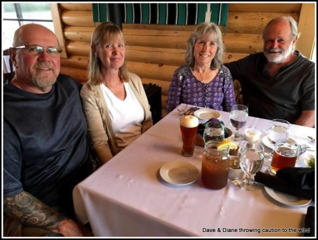 Me (Dave) Diane, Dianne & Tom