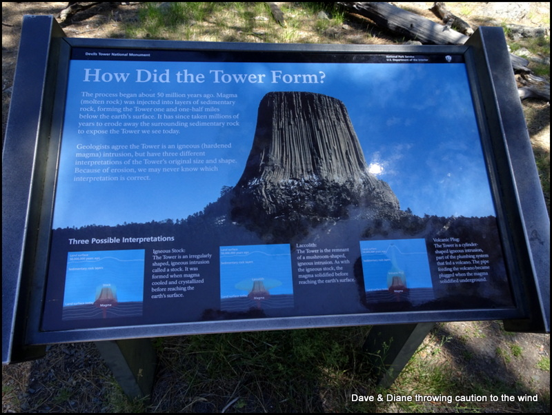 Devils Tower and the Vore Buffalo Jump | Dave & Diane throwing ...
