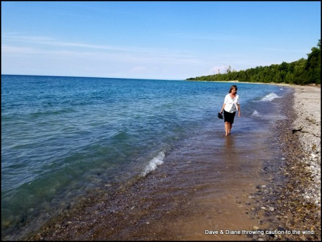 Searching for Petoskey Stones