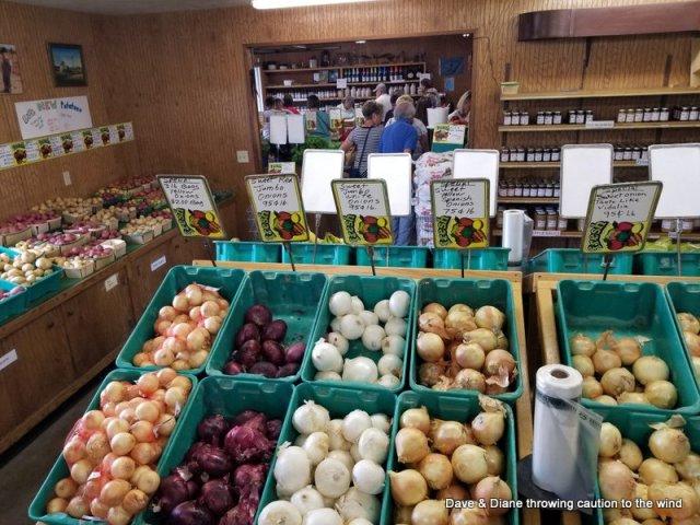 Bills Farmers Market outside of Petoskey