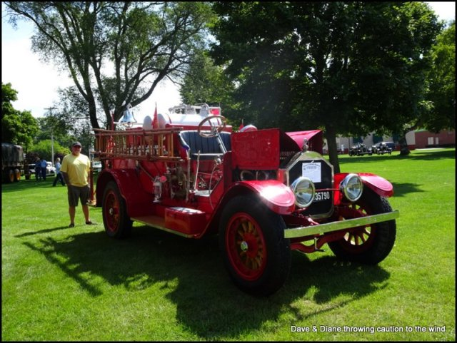 Taken at the small car show in Boyne City