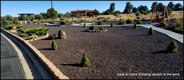 A nice mediation garden by BLM