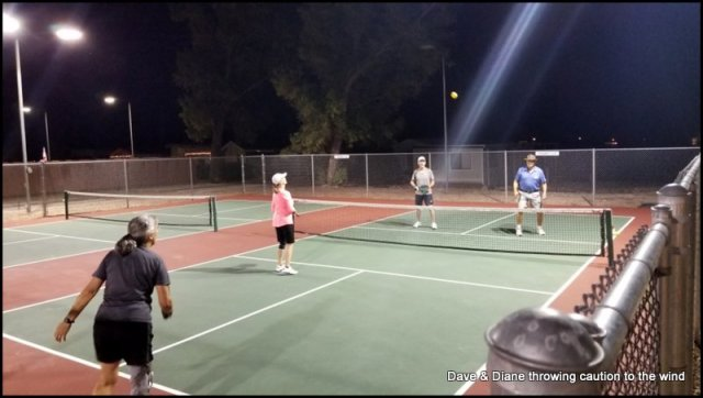 """I thought this shot was funny. Everyone is looking at the ball as if to say """"are you ever going to come down"""". LOL!!"""