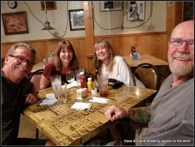 Bob, Karen, Diane & me