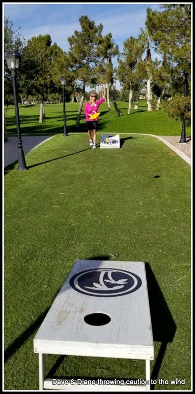 Working on her left handed toss.